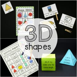 3D Shape Activities
