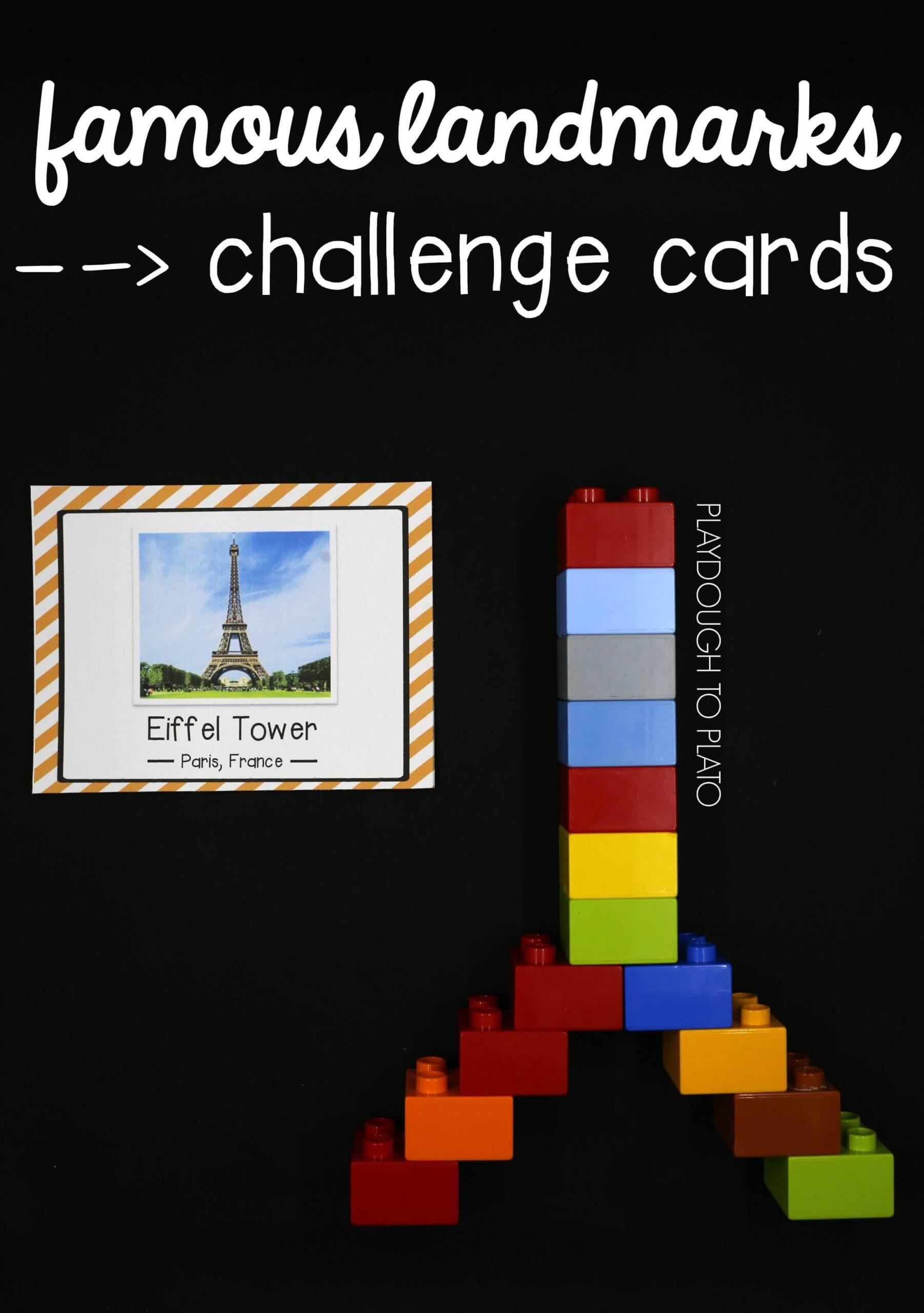 Famous Landmark STEM Challenge