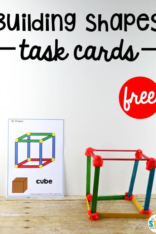 Building Shapes STEM Cards