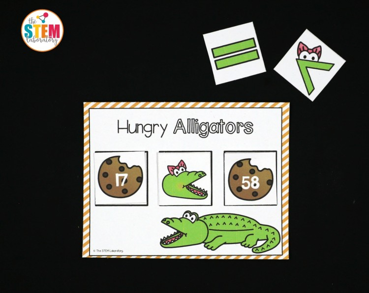 Hungry greater than alligators!