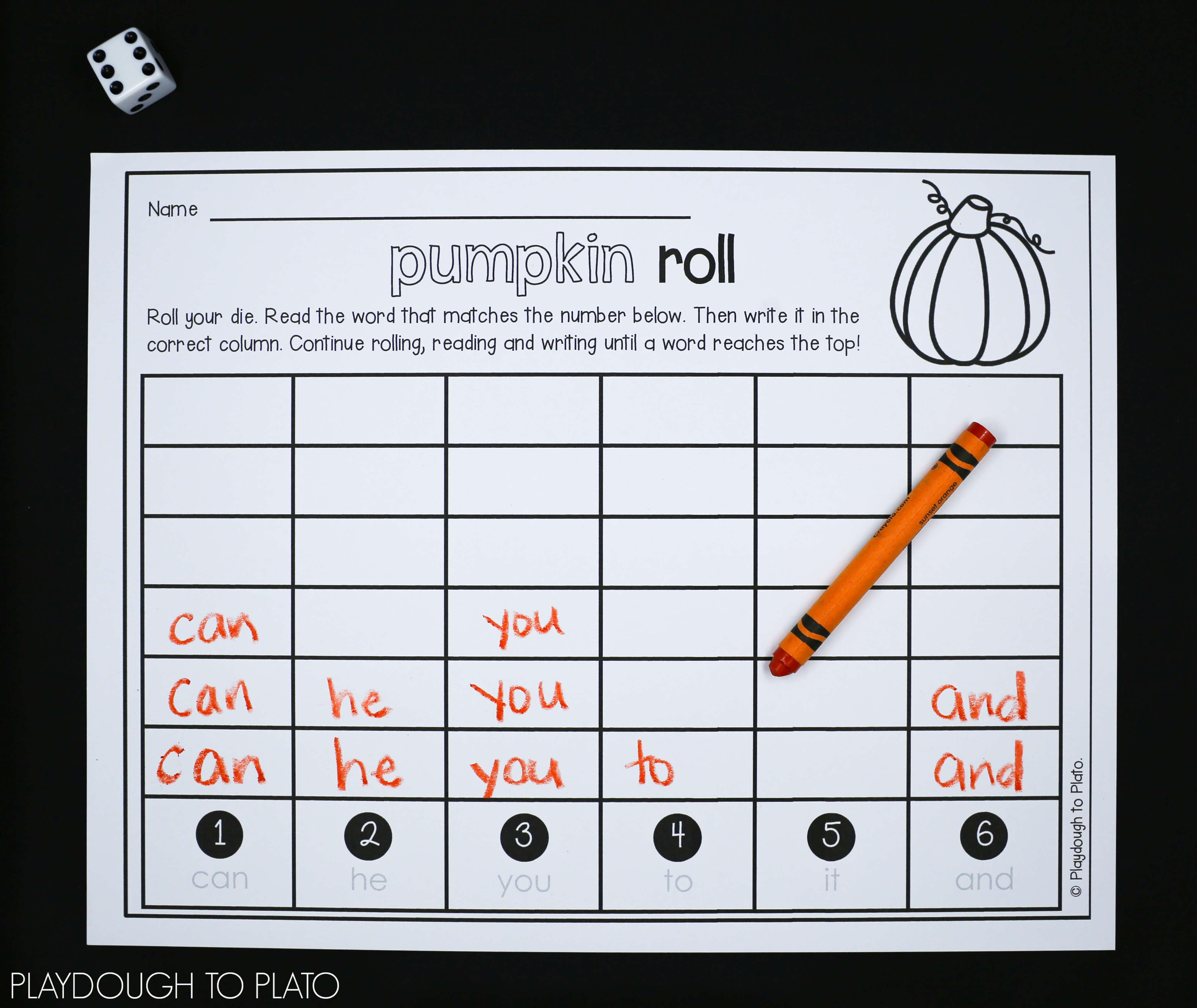 pumpkin activity pack first grade