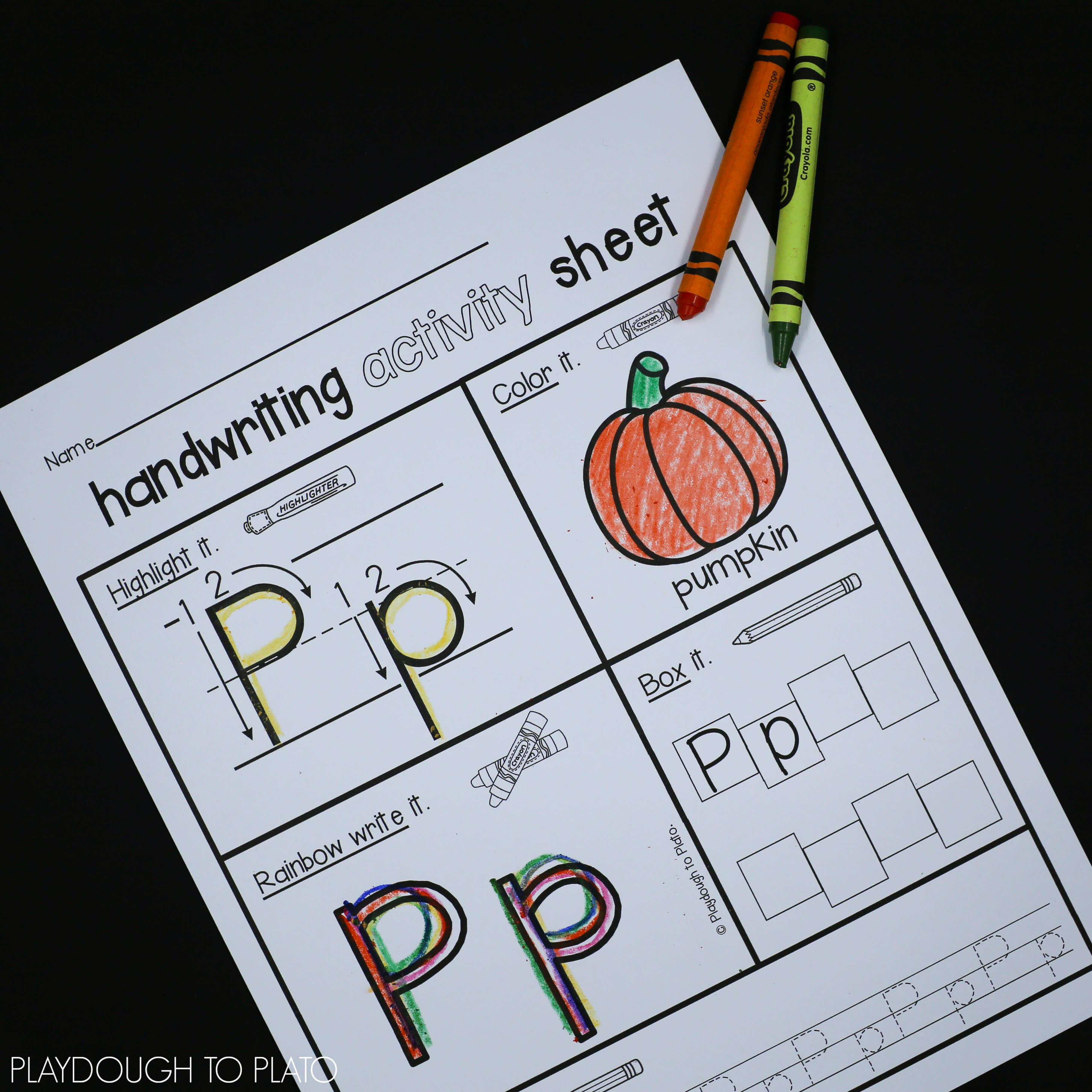 Pumpkin Activity Pack - Preschool and Kindergarten - The Stem Laboratory