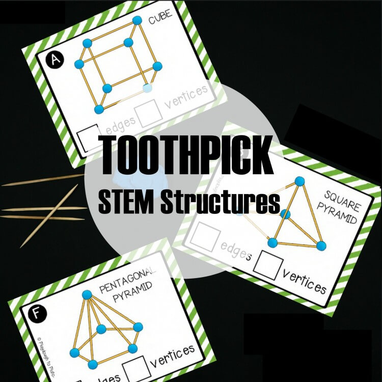 Toothpick STEM Structures for Kids