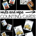 Write and Wipe Counting Cards
