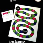 Ten Frame Addition Board Game