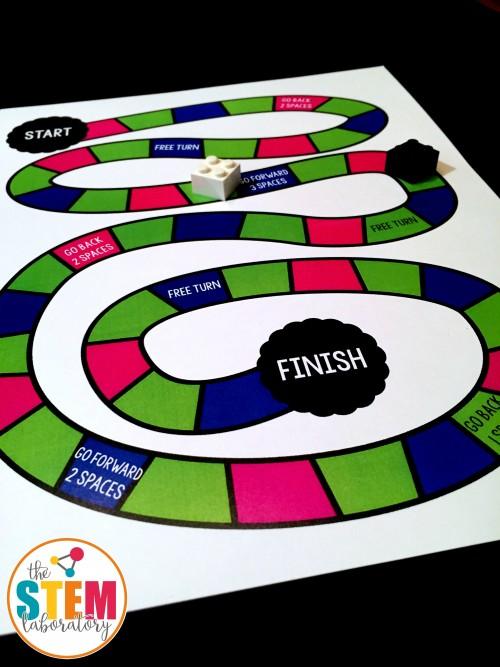 Addition Board Game 2