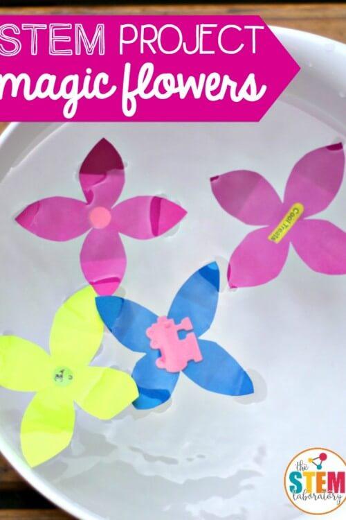 Magic Blooming Flower