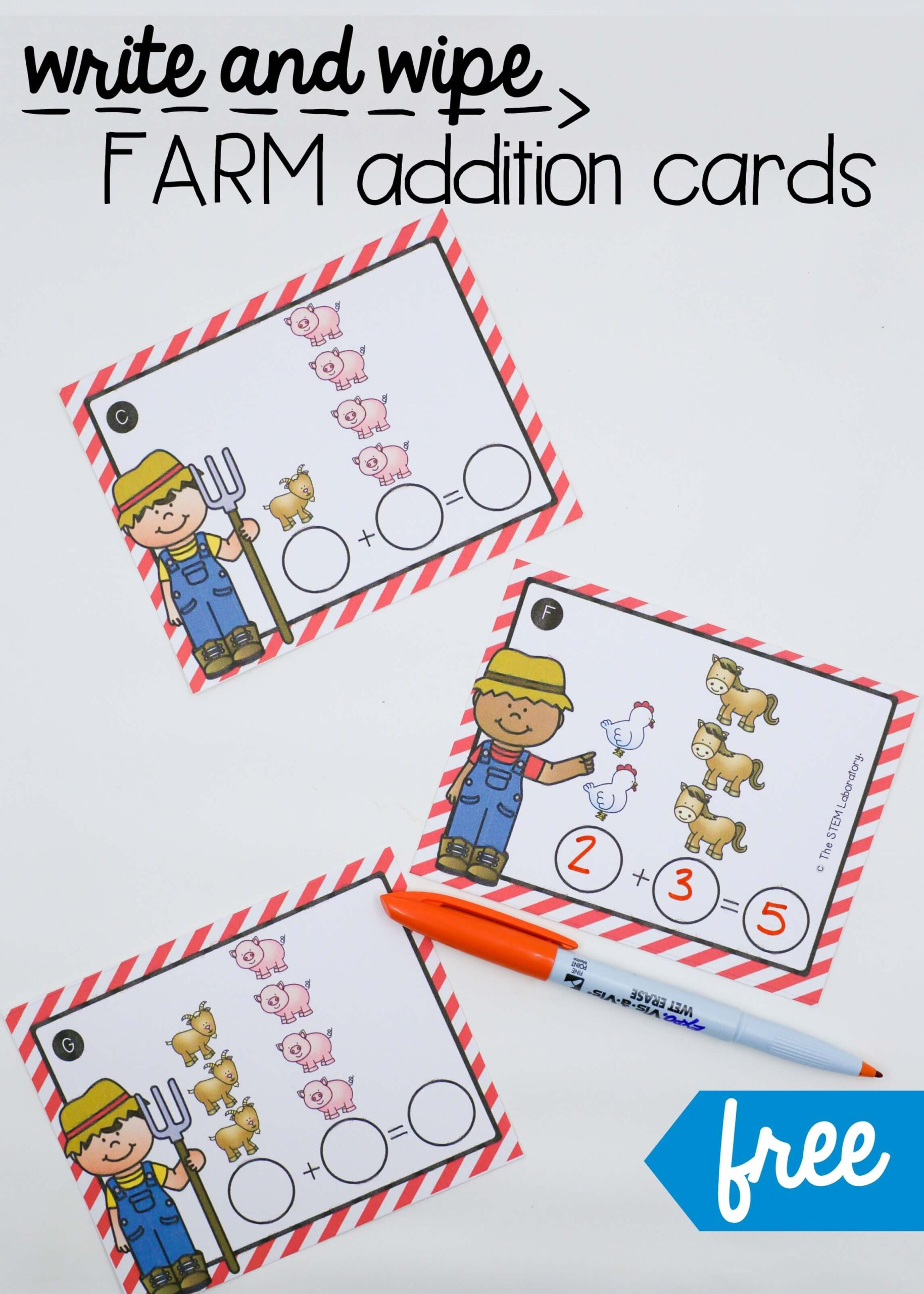 Farm Addition Cards