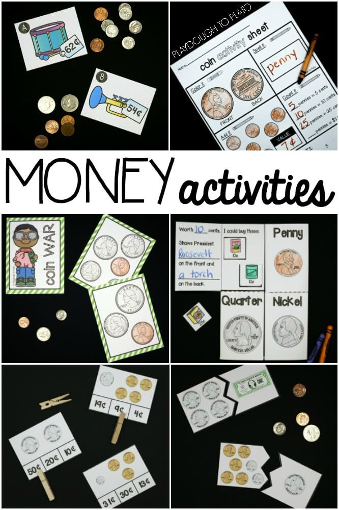Money Activity Pack The Stem Laboratory