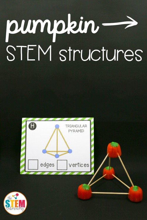 Pumpkin STEM Structures