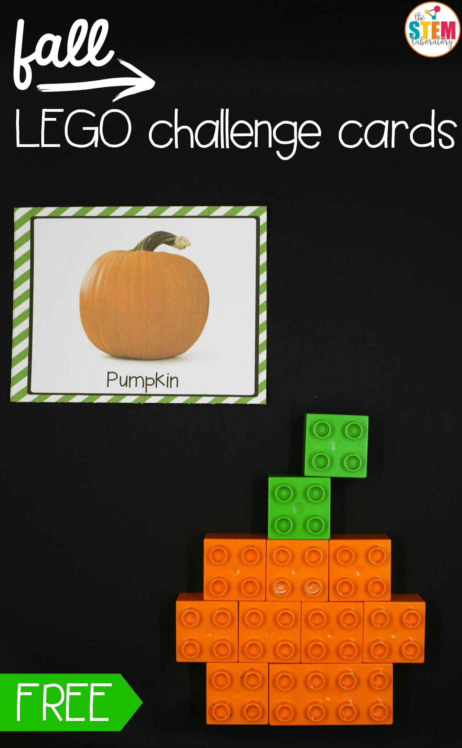 Fall LEGO Challenge Cards
