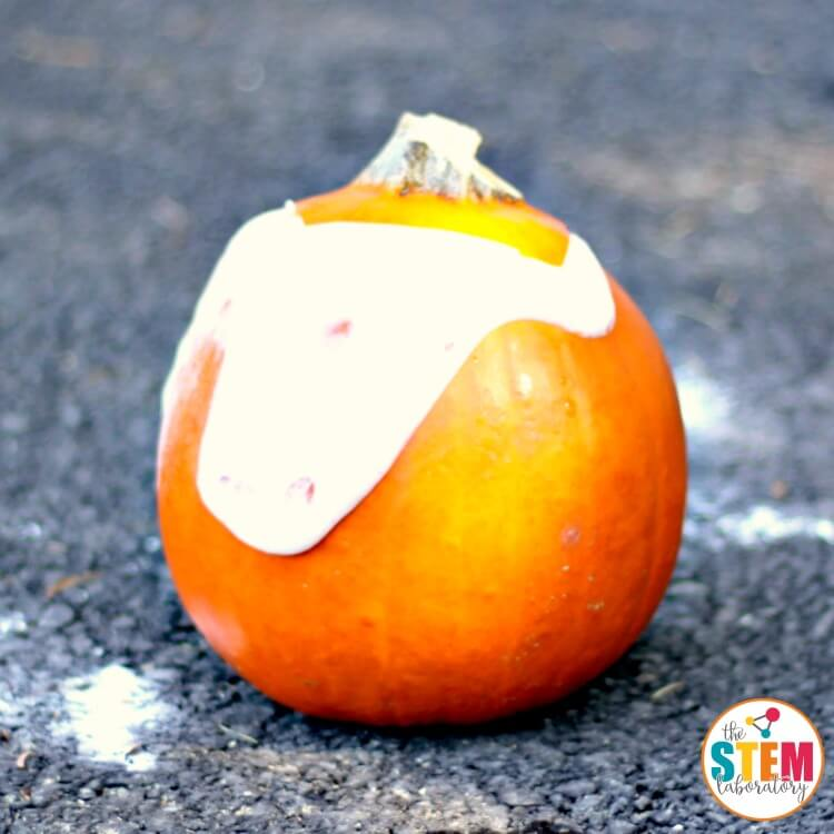 Fall is the perfect time to make a pumpkin volcano using simple kitchen ingredients. The kids will jump and cheer as they watch their volcano erupt!