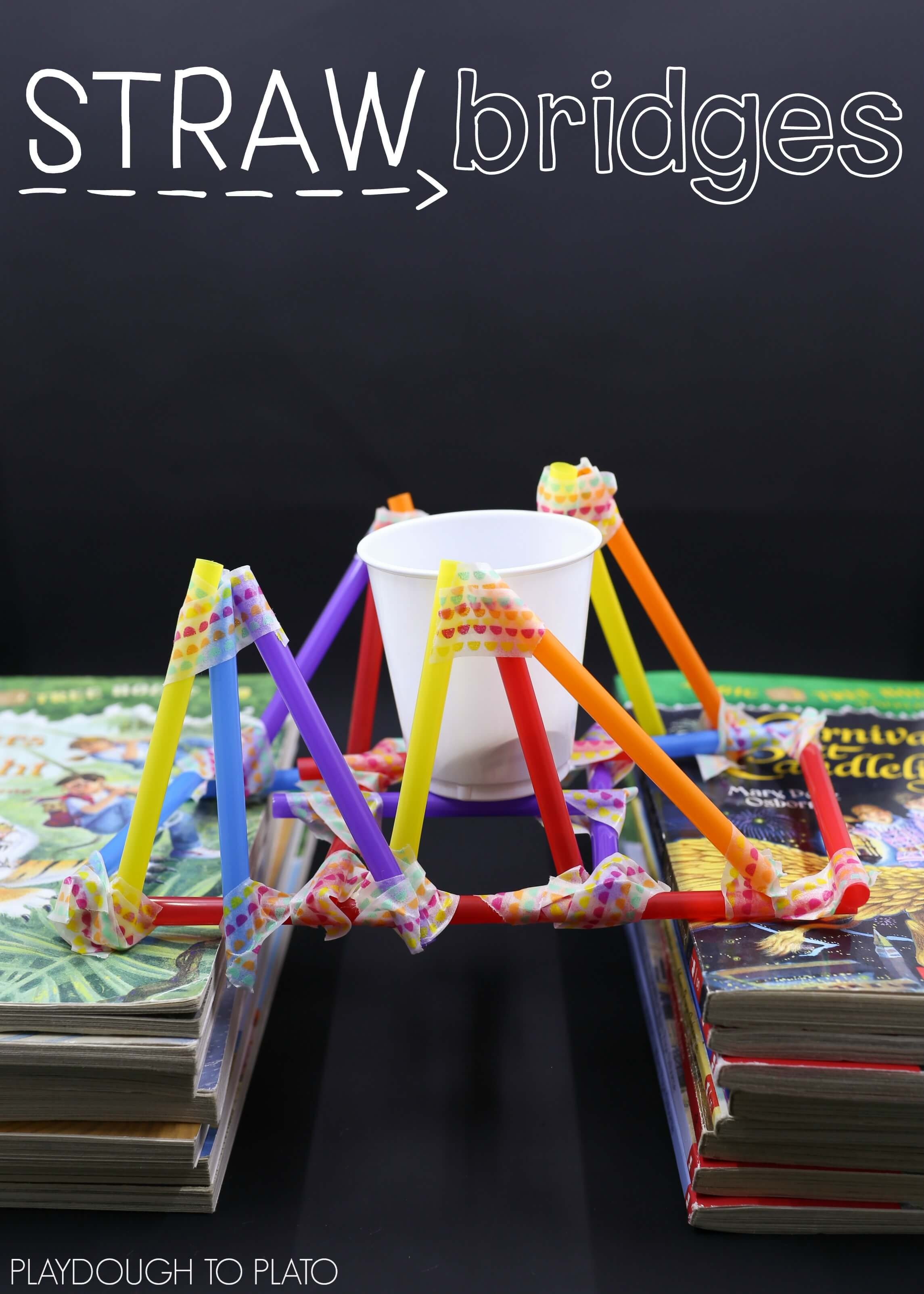 Stem Challenge Build With Straws The Stem Laboratory