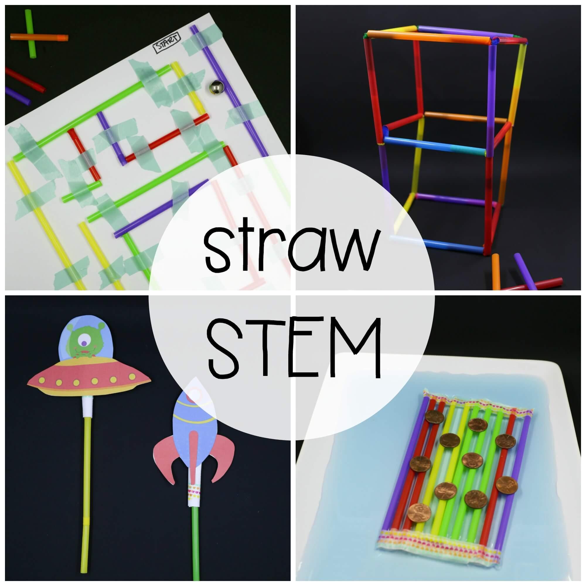 STEM Challenge: Build with Straws