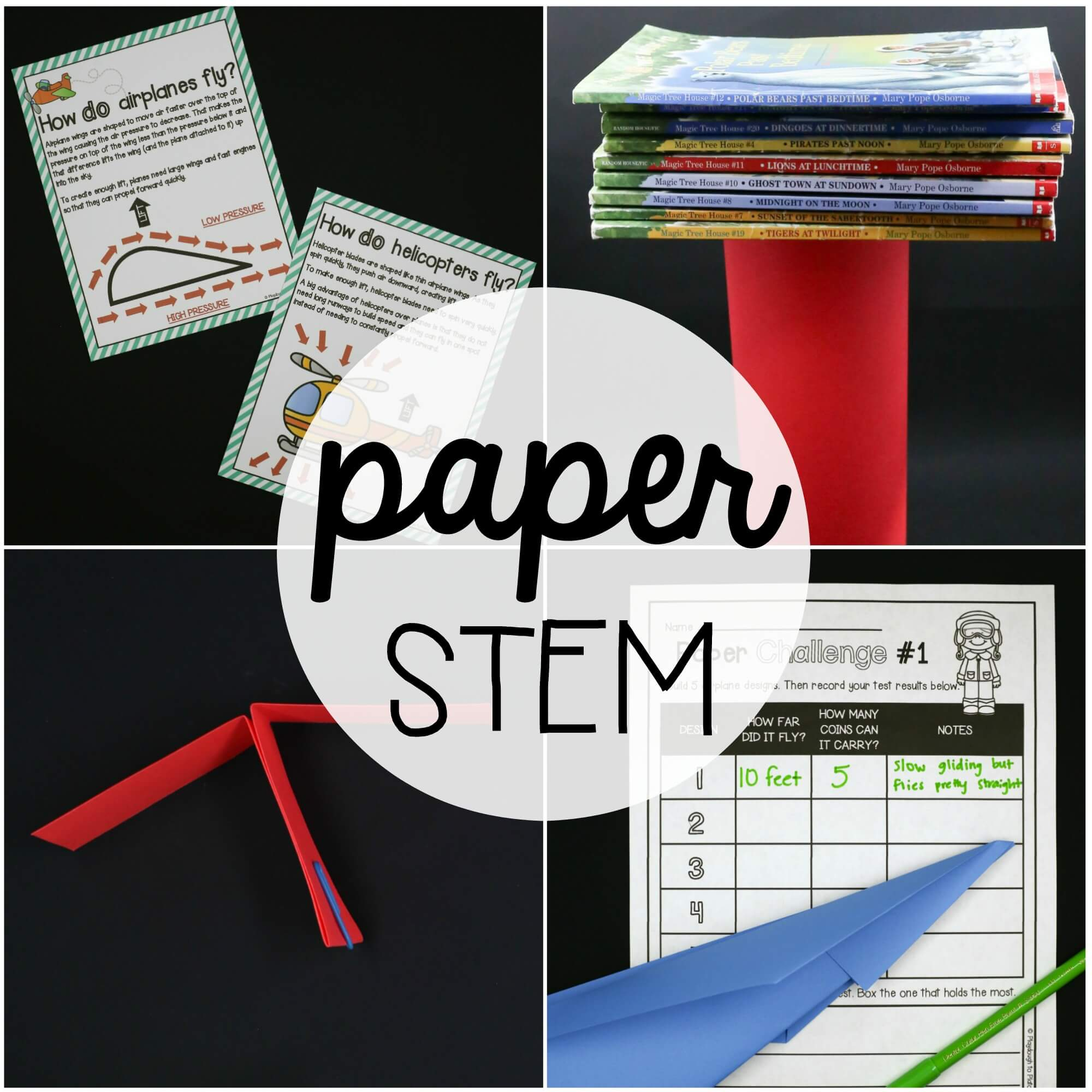 STEM Challenge: Building with Paper