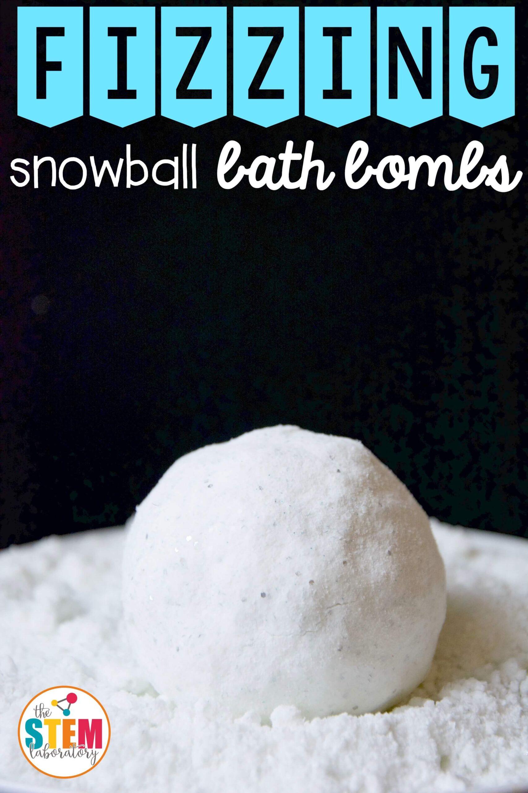 Minty Fizzing Snow Balls