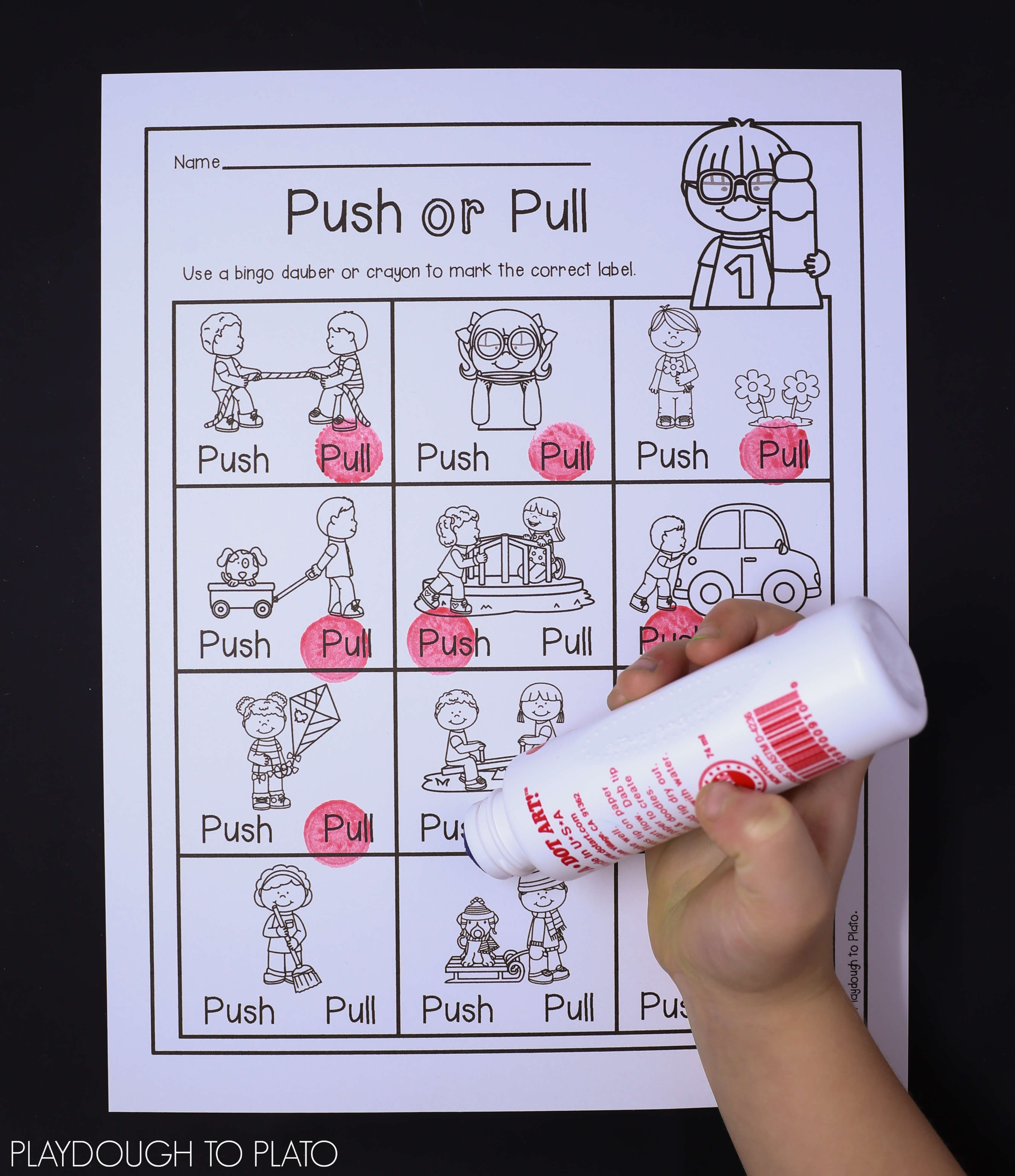 Force Motion Activity Pack on Math Activities For First Grade 2