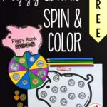 Piggy Bank Spin and Color