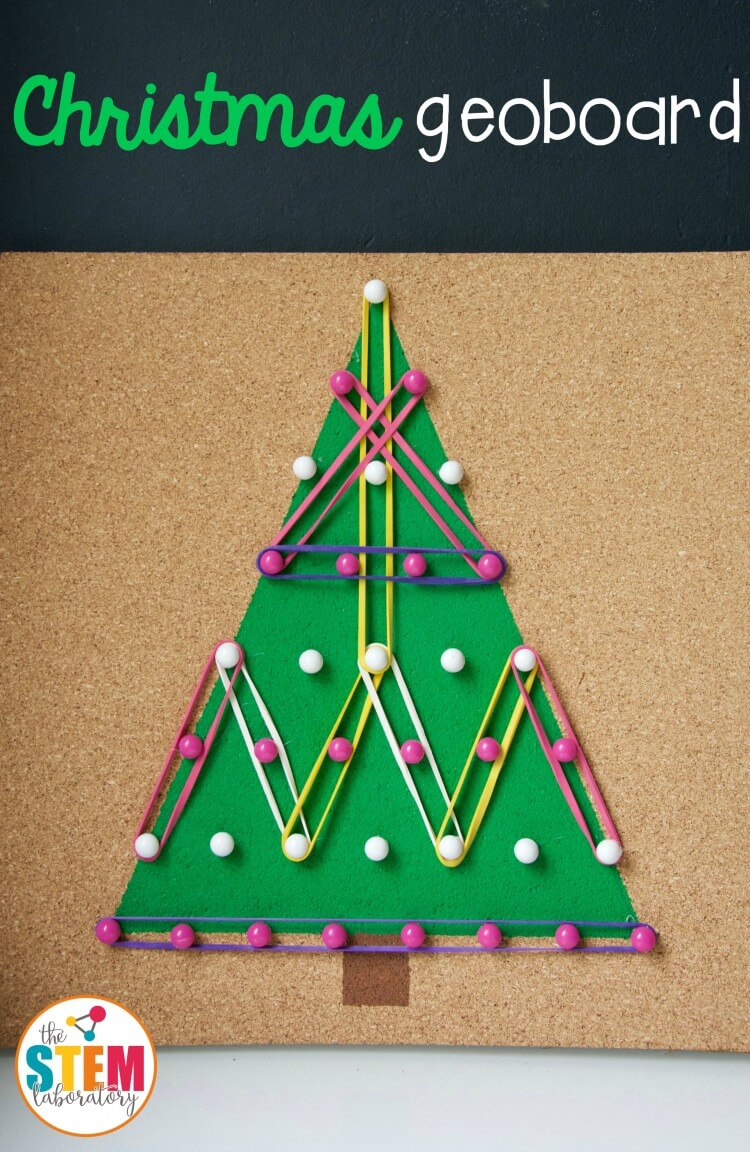 Christmas Tree Geoboard - The Stem Laboratory