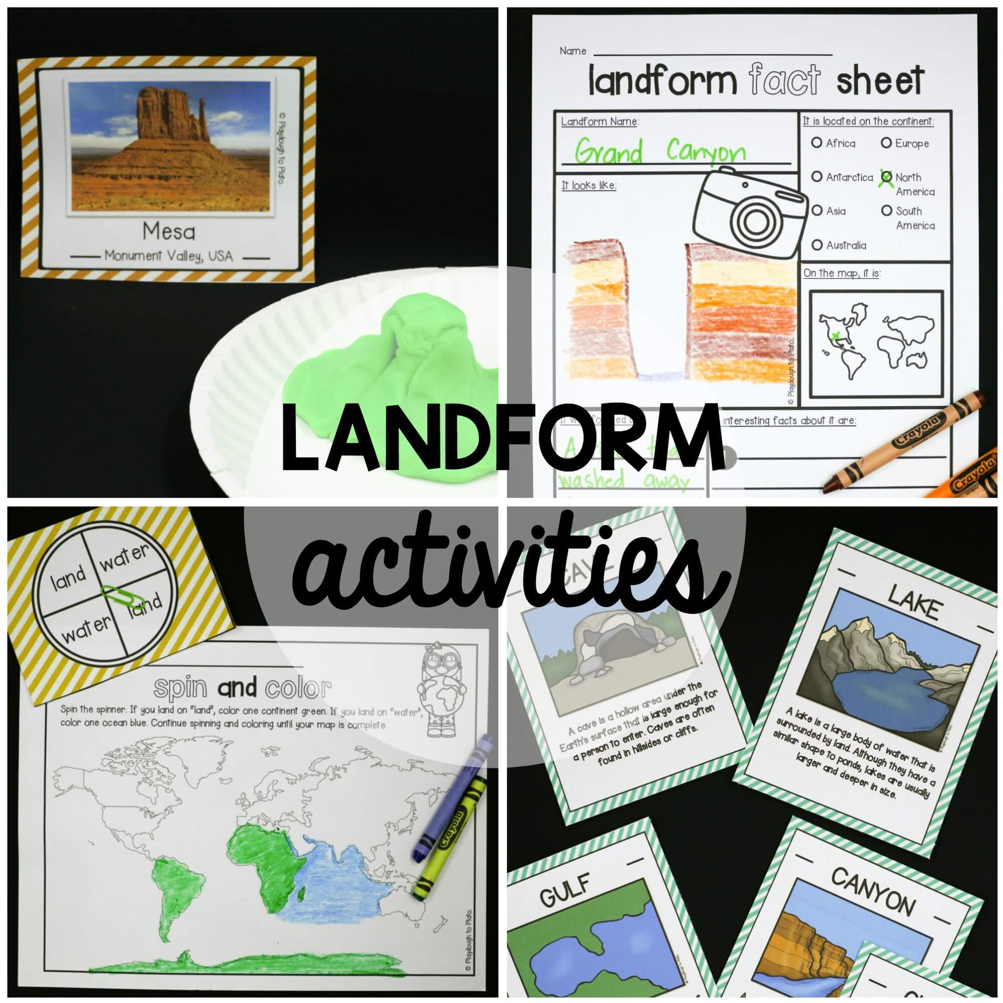Landform Activity Pack