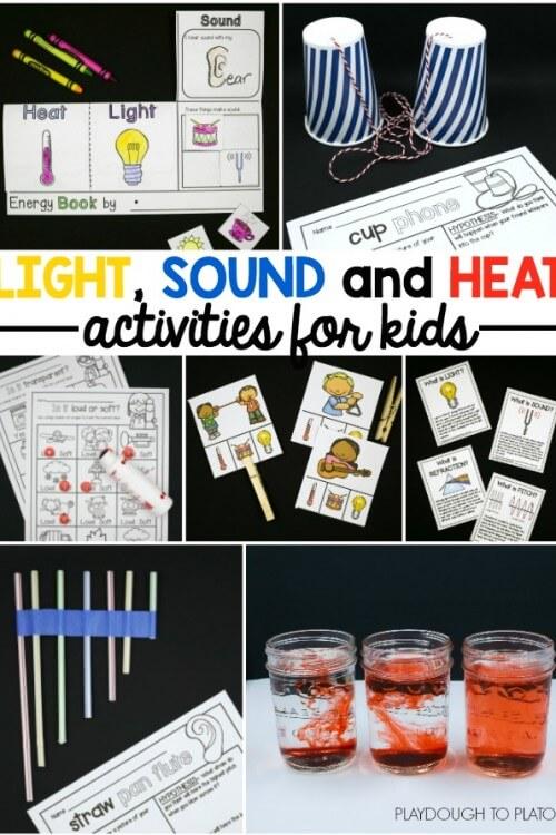 Light, Sound and Heat!