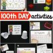 100th Day of School activities!