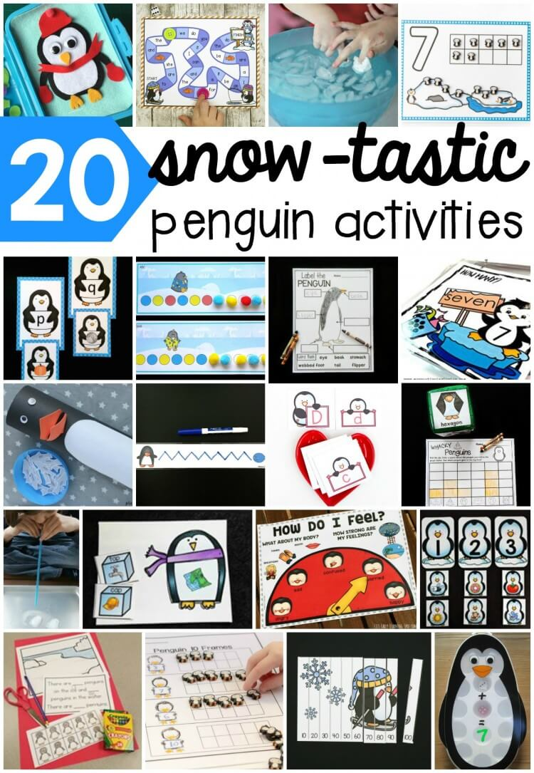 20 penguin activities!