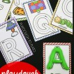 52 playdough ABC mats - 26 upper and 26 lower.