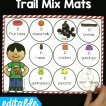 Editable 100th Day Trail Mix Mats!