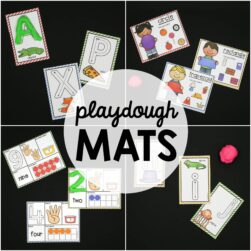Playdough Mats!