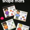 Playdough Shape Mats!