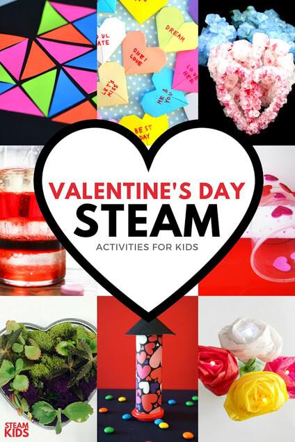 Valentine's Day STEAM for Kids