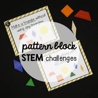 Pattern Block STEM Challenges!