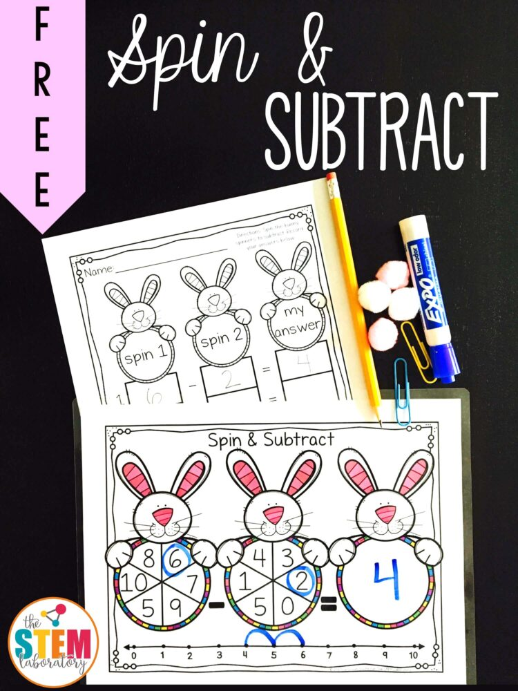 Spin and Subtract - The Stem Laboratory