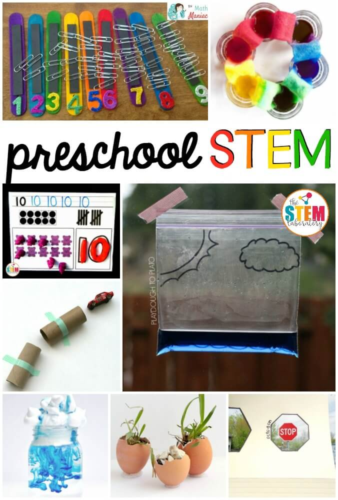 Pre Engineering And Science : Preschool stem activities the laboratory