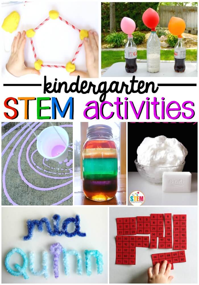 Kindergarten STEM Activities - The Stem Laboratory