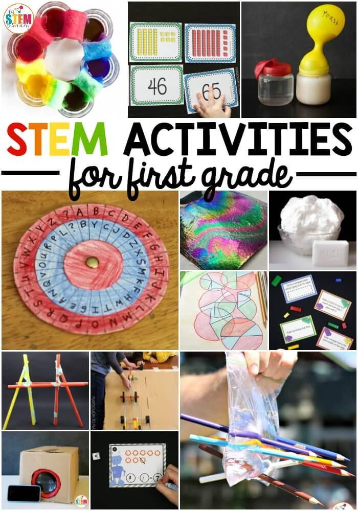 First Grade STEM Activities - The Stem Laboratory
