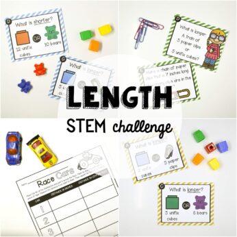 STEM Challenge Measuring length