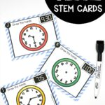 Telling Time STEM Cards