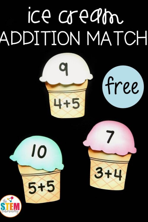Ice Cream Addition Match