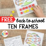 Back to School Ten Frames