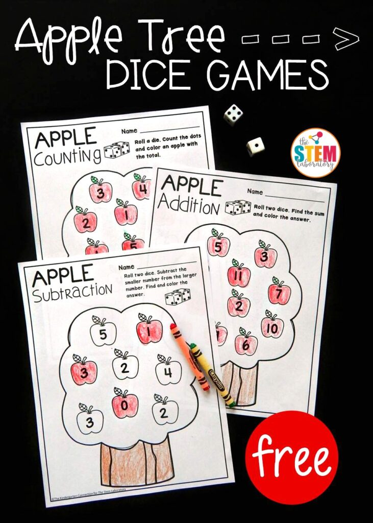 Apple math dice games the stem laboratory getting ready ccuart Gallery