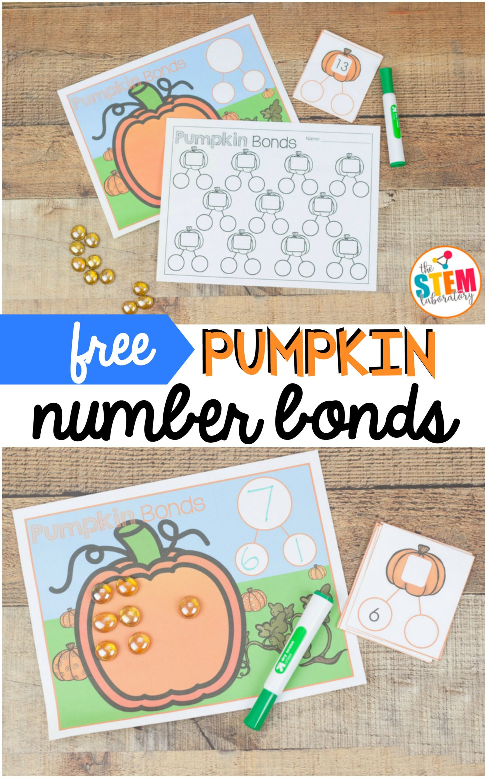 Pumpkin Number Bonds