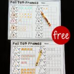 Fall Ten Frame Printables
