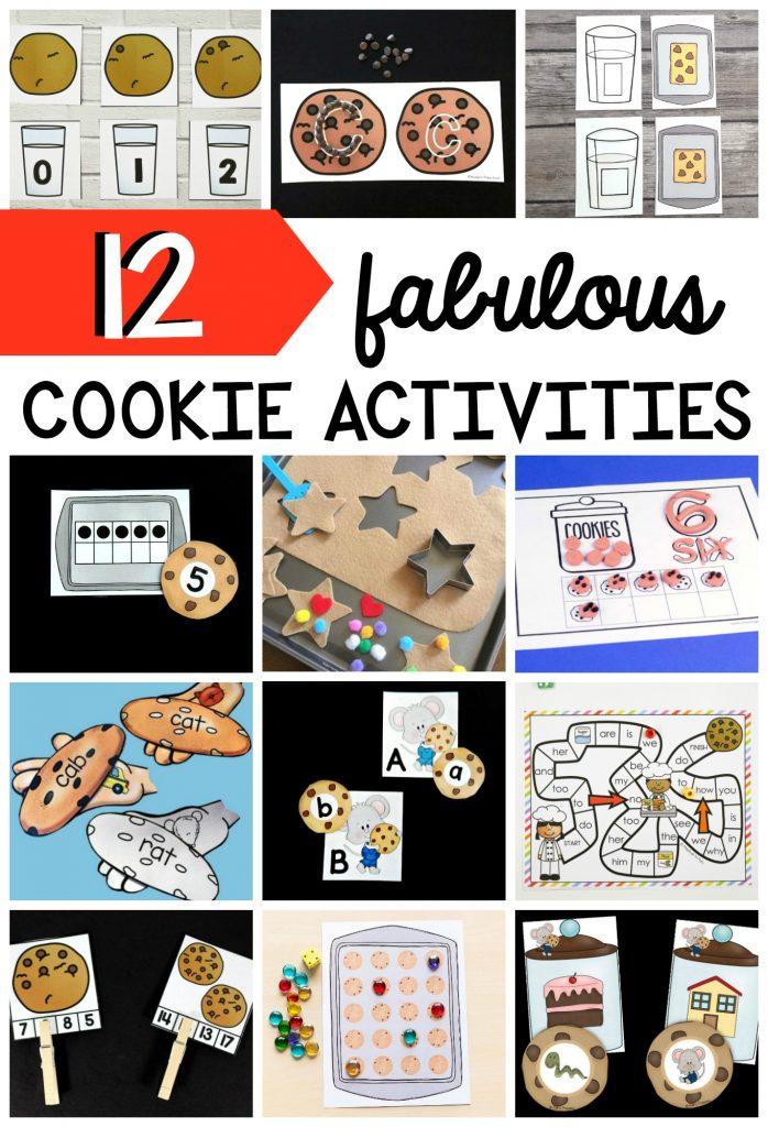 12 fabulous Cookie Activities