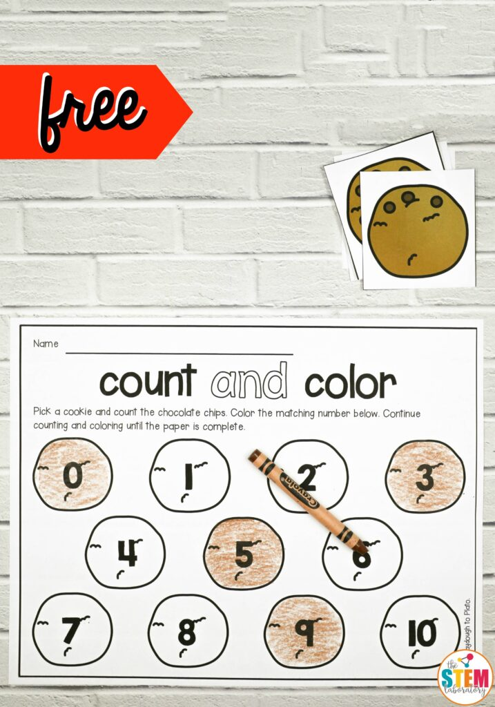 Cookie Count and Color by The STEM Laboratory