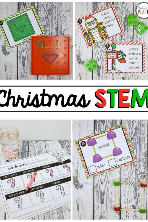 Christmas STEM Challenges