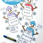 Number Representation Snowmen