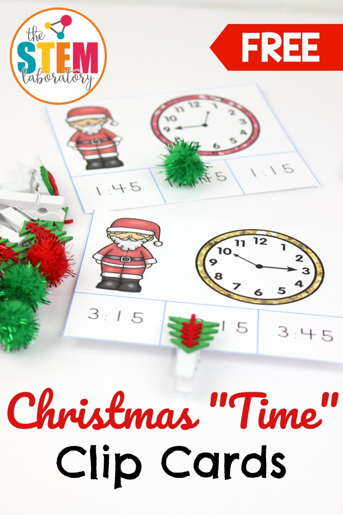 Christmas Time Clip Cards