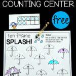 Raindrop Ten Frame Counting Center